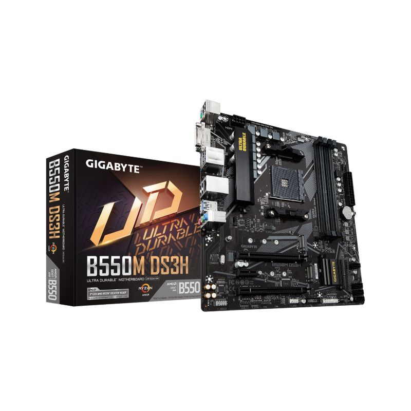 gigabyte amd b550m ds3h matx motherboard a
