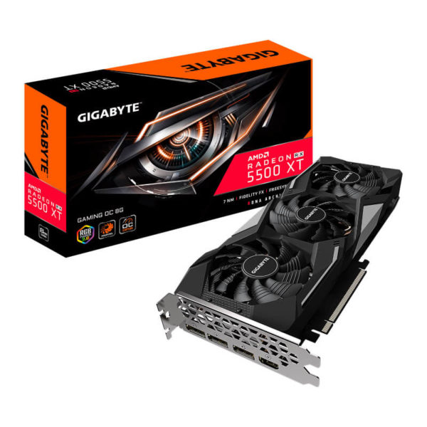 gigabyte amd radeon rx 5500 xt gaming oc 8gb graphics card a