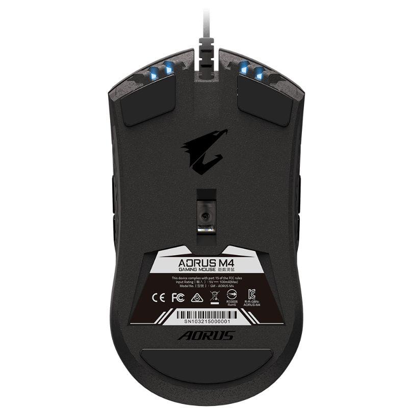 gigabyte aorus m4 gaming mouse b