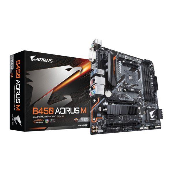 gigabyte b450 aorus m am4 motherboard a