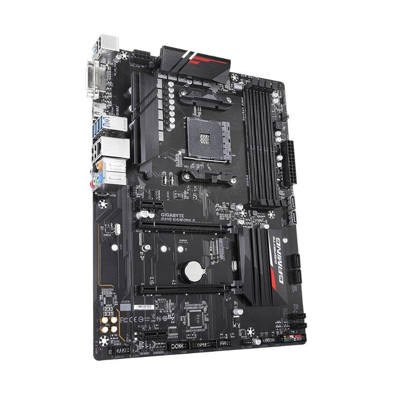 gigabyte b450 gaming x amd ryzen am4 motherboard c