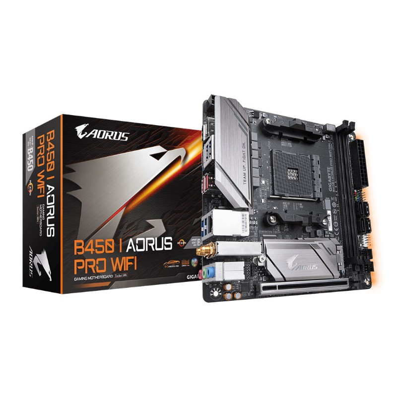 gigabyte b450 i aorus pro wifi am4 motherboard a