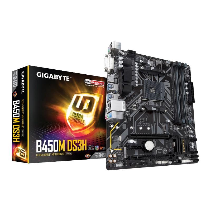 gigabyte b450m ds3h am4 motherboard a