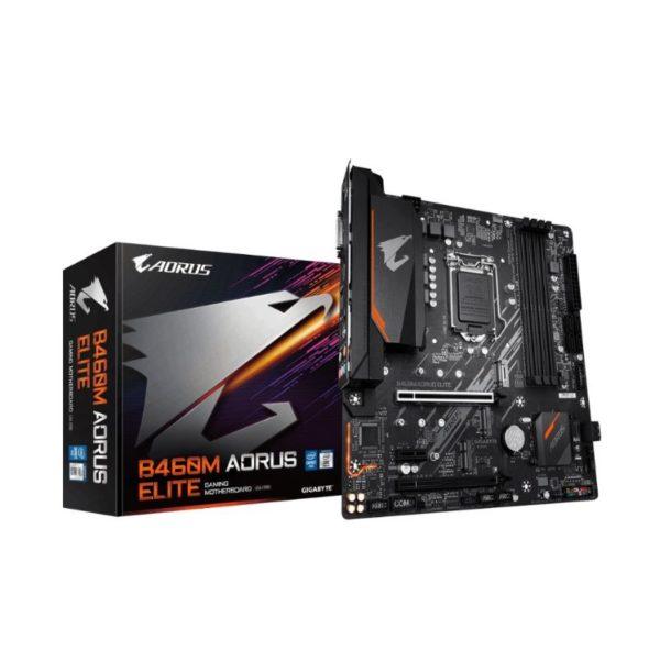 gigabyte b460m aorus elite intel lga 1200 motherboard a