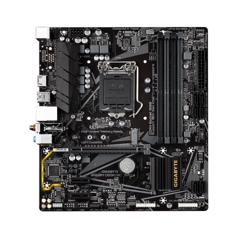 gigabyte b460m ds3h ac motherboard b