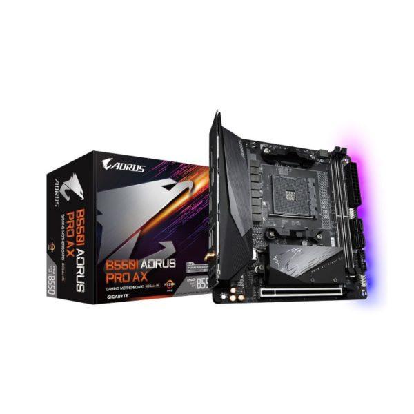 gigabyte b550i aorus pro ax am4 itx motherboard a