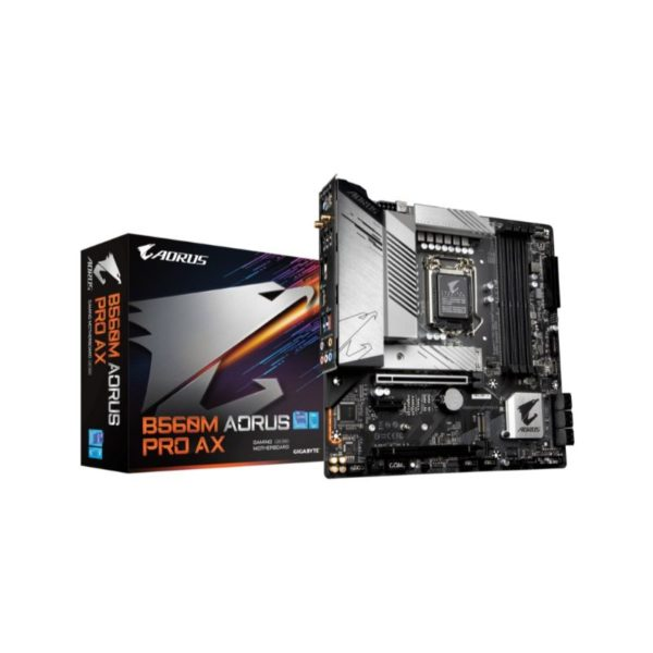 gigabyte b560m aorus pro ax intel lga1200 gaming motherboard a