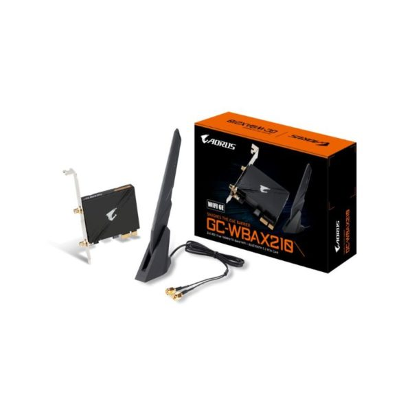 gigabyte gc wbax210 tri band wifi bluetooth pcie expansion card a
