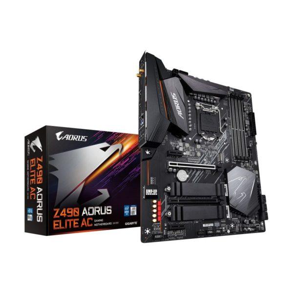 gigabyte intel z490 aorus elite ac motherboard a