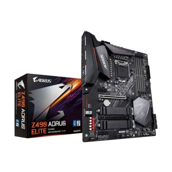 gigabyte intel z490 aorus elite motherboard a