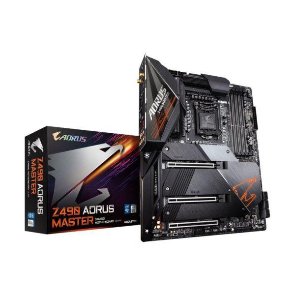 gigabyte intel z490 aorus master motherboard a