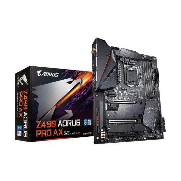 gigabyte intel z490 aorus pro ax motherboard a