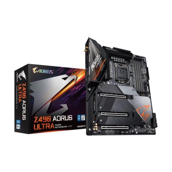 gigabyte intel z490 aorus ultra motherboard a