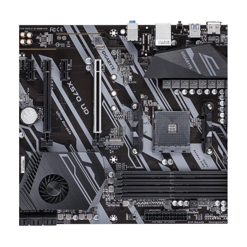 gigabyte x570 ud amd ryzen am4 motherboard b