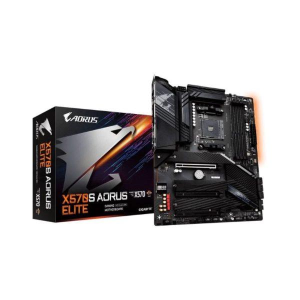 gigabyte x570s aorus elite am4 motherboard a