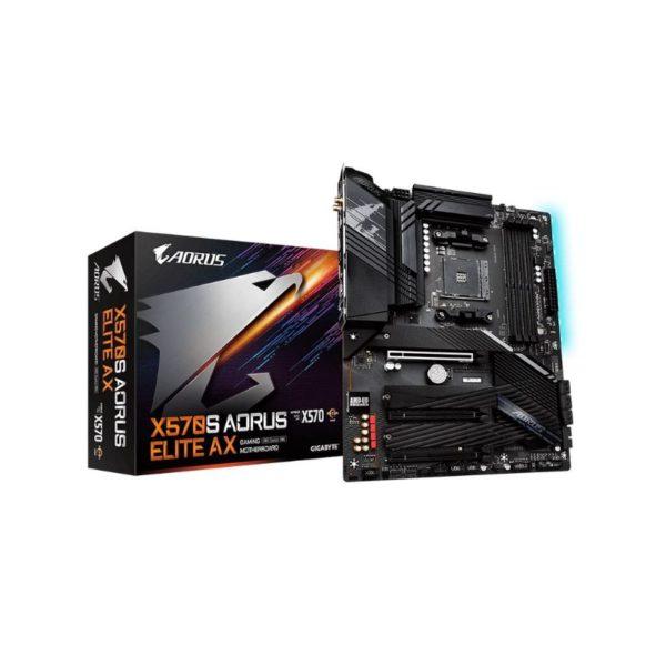 gigabyte x570s aorus elite ax am4 motherboard a