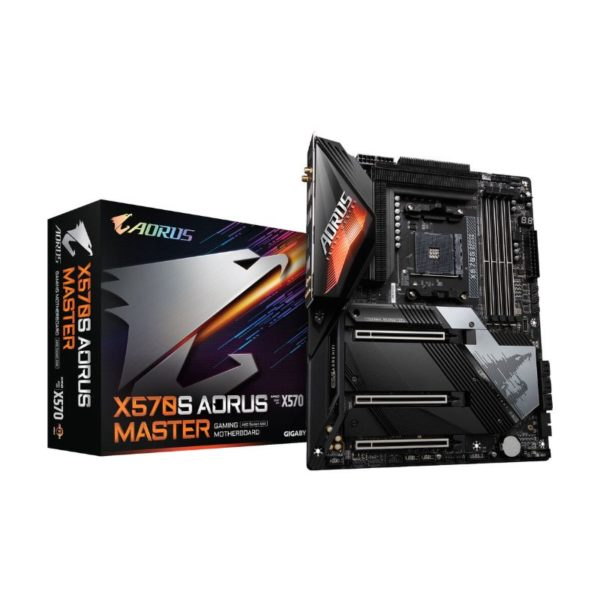 gigabyte x570s aorus master am4 motherboard a
