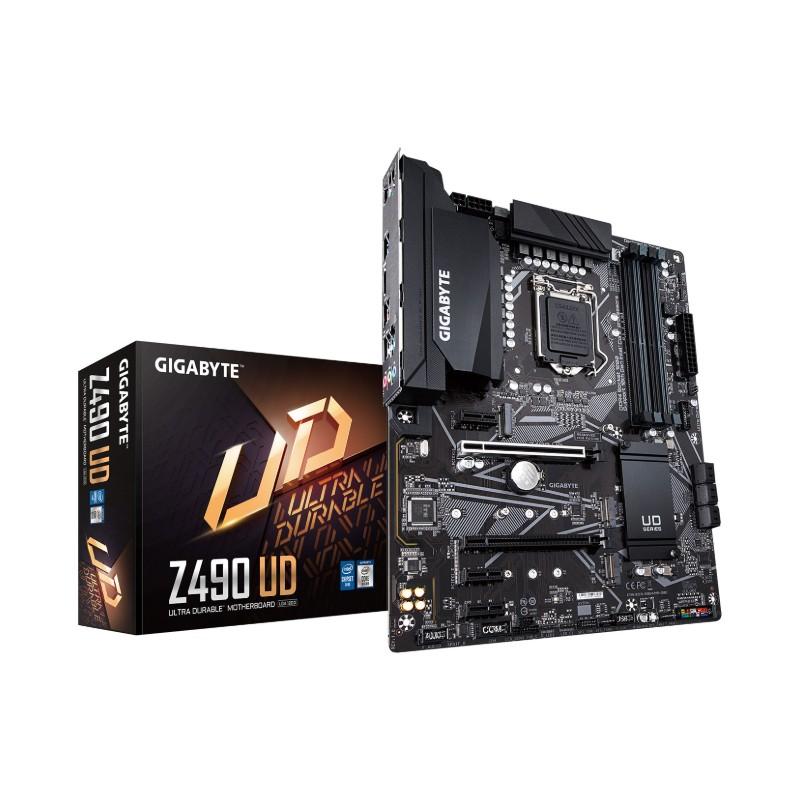 gigabyte z490 ud intel 10th gen motherboard a