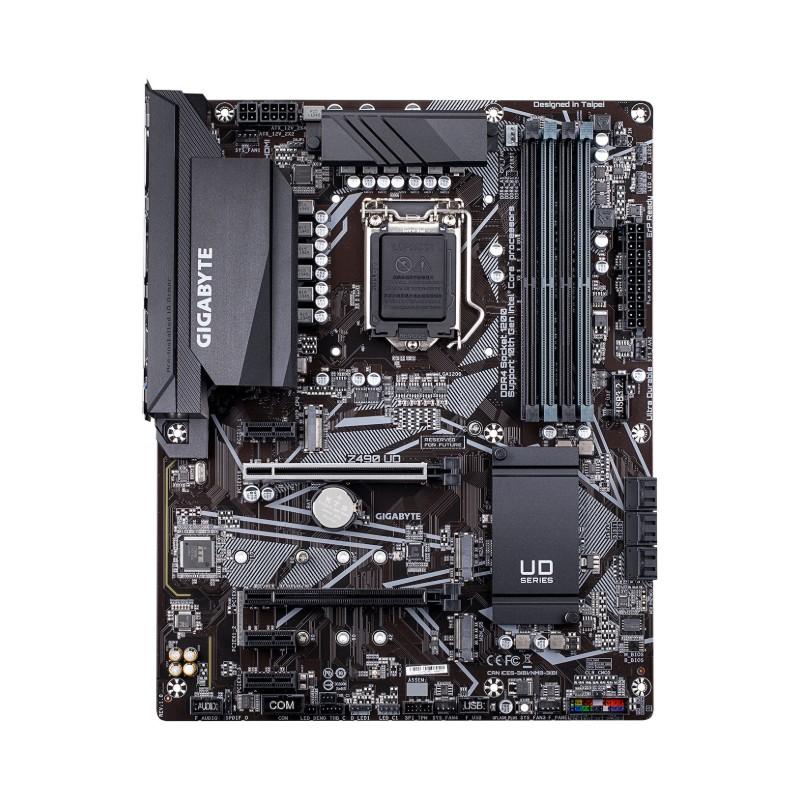 gigabyte z490 ud intel 10th gen motherboard b