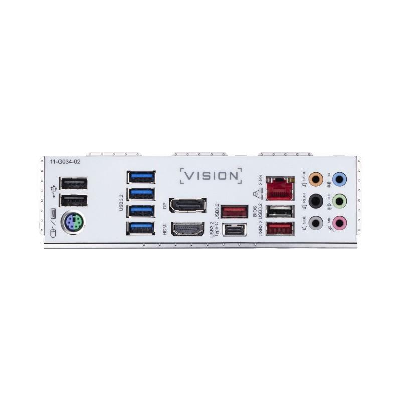 gigabyte z490 vision g intel 10th gen motherboard d