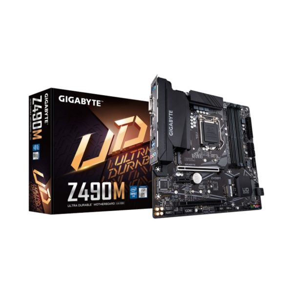 gigabyte z490m intel 10th gen motherboard a