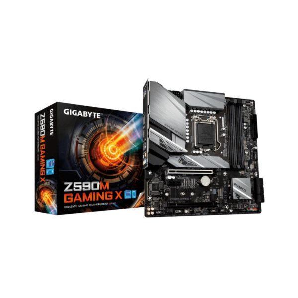 gigabyte z590m gaming x intel lga 1200 motherboard a