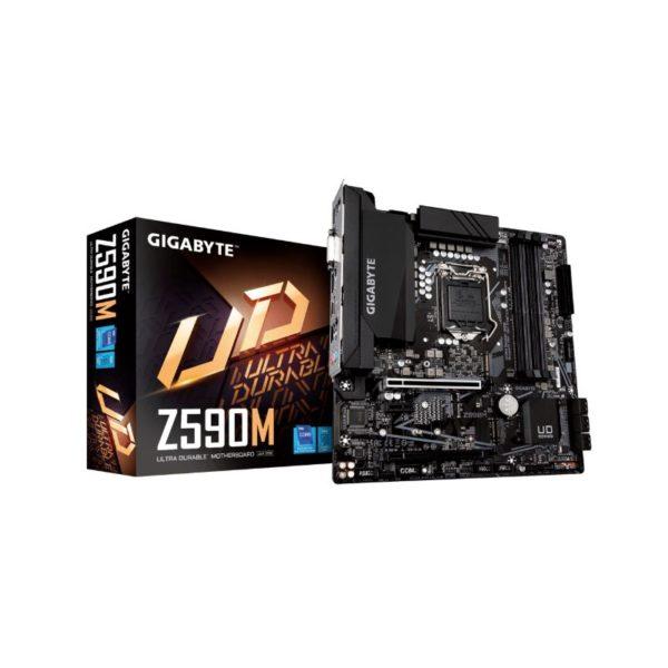 gigabyte z590m intel lga 1200 motherboard a