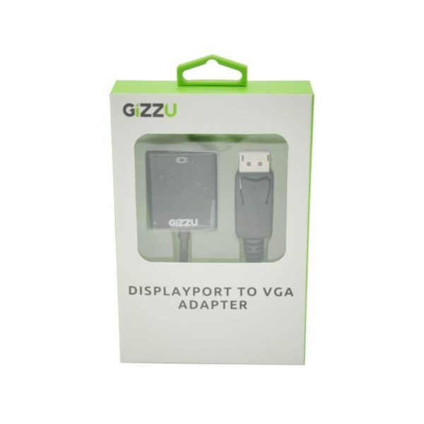gizzu display port to vga adapter a