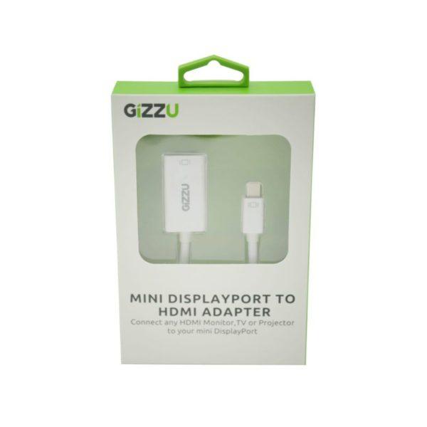 gizzu mini display port to hdmi adapter a