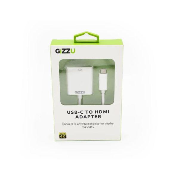 gizzu usb c to hdmi 4k adapter a