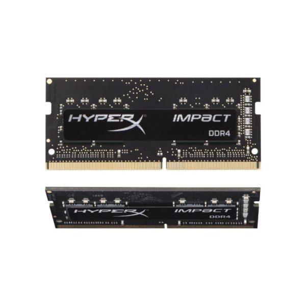 hyperx impact 32gb 2 16gb ddr4 2666mhz c15 sodimm laptop notebook memory a