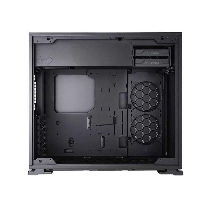 inwin 103 rgb gaming tempered glass case black d
