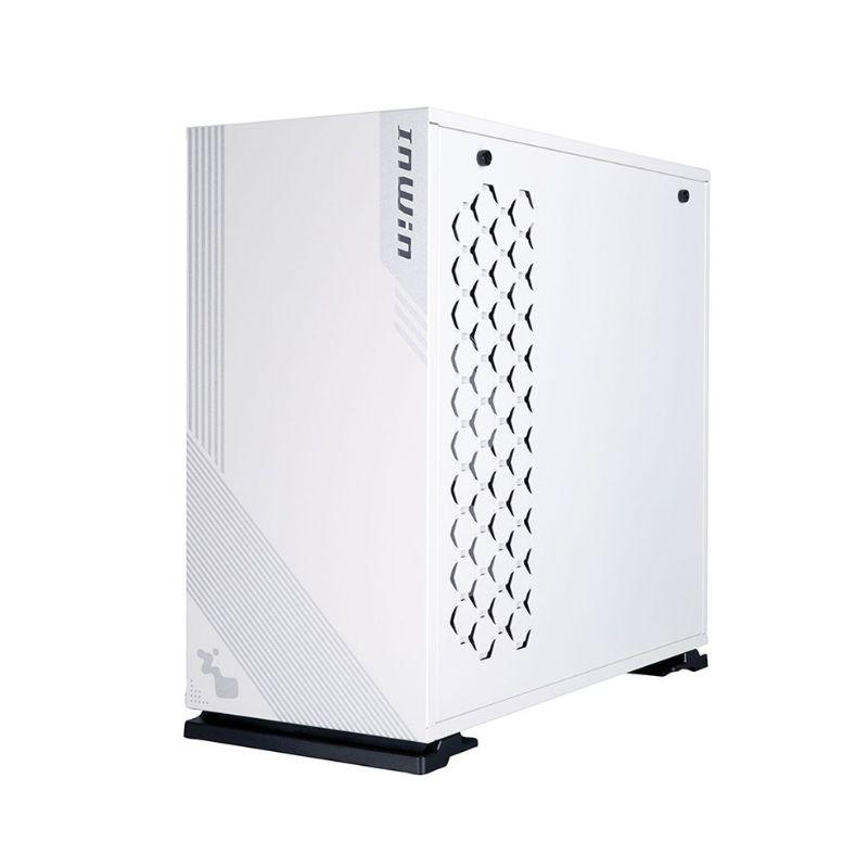 inwin 103 rgb gaming tempered glass case white b