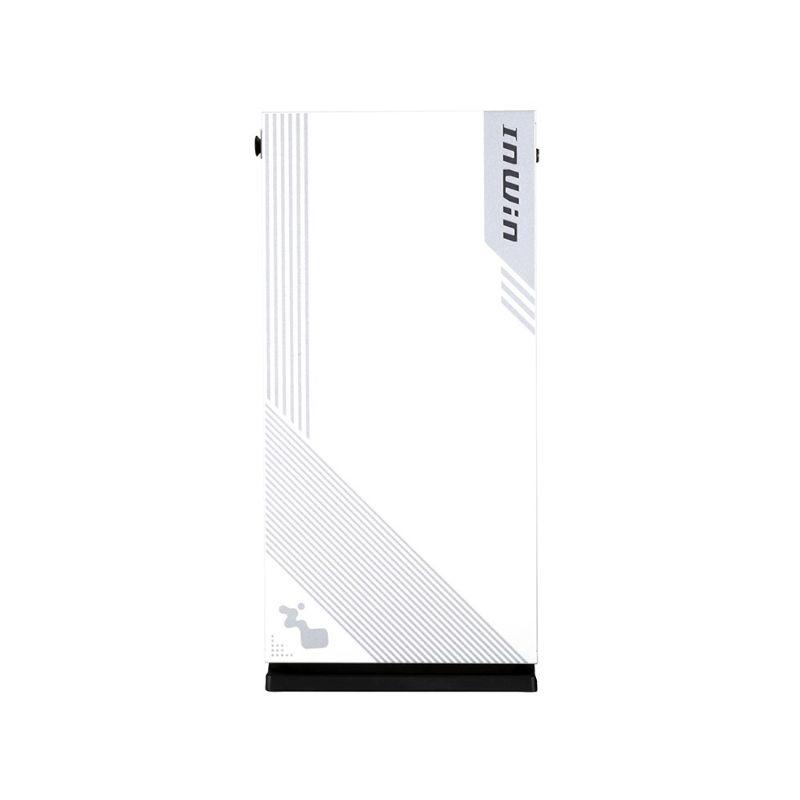 inwin 103 rgb gaming tempered glass case white c