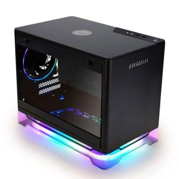 inwin a1 plus black mini itx case a