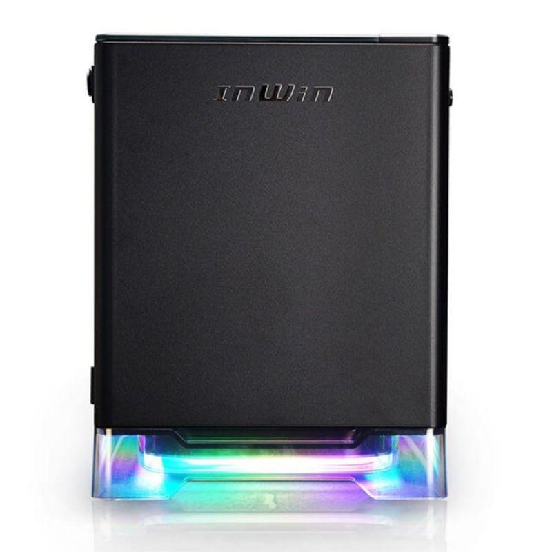 inwin a1 plus black mini itx case b