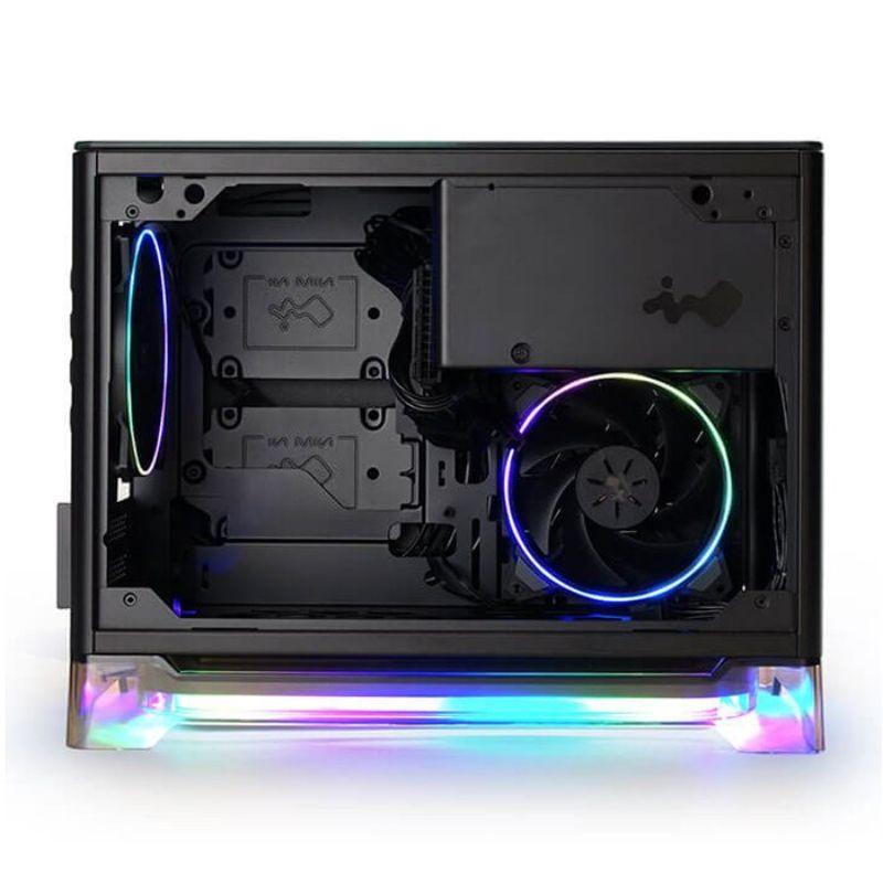 inwin a1 plus black mini itx case c