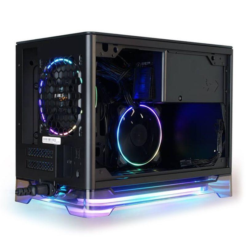 inwin a1 plus black mini itx case e