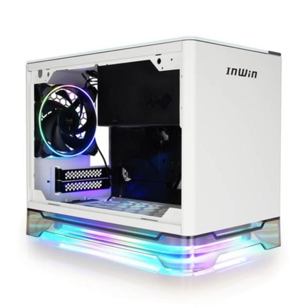 inwin a1 plus white mini itx case a