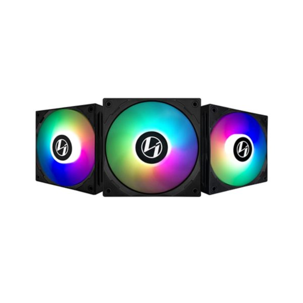 lian li st120 argb pwm fan triple pack controller black a