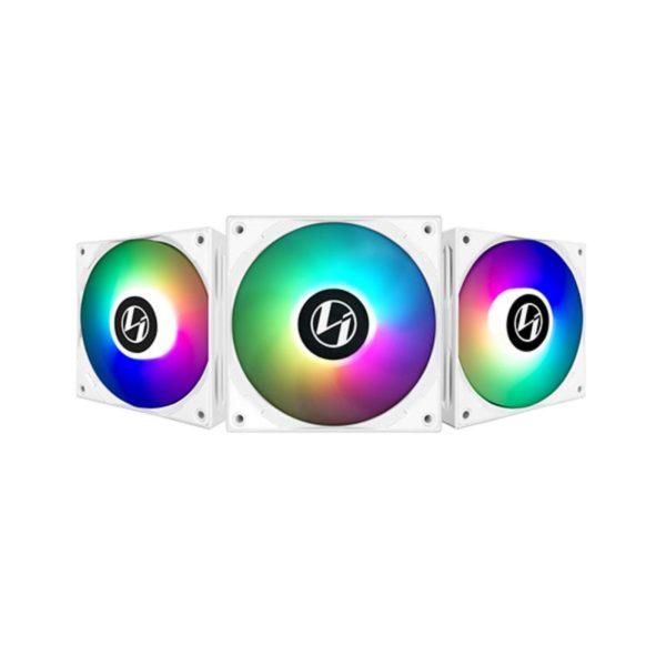 lian li st120 argb pwm fan triple pack controller white a