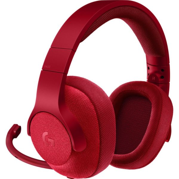 logitech g433 gaming headset red a