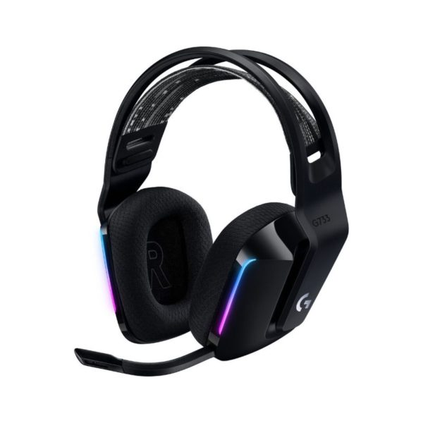 logitech g733 wireless gaming headset black a