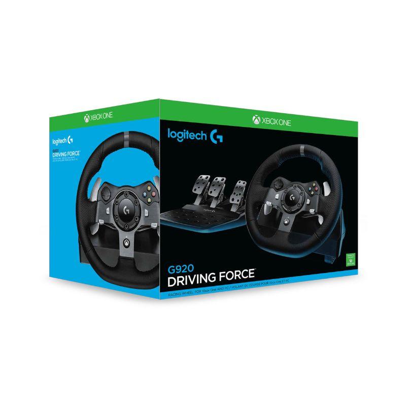 logitech g920 driving force wheel xbox one pc d