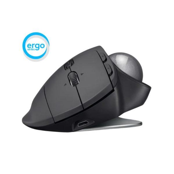 logitech mx ergo advanced wireless trackball mouse a