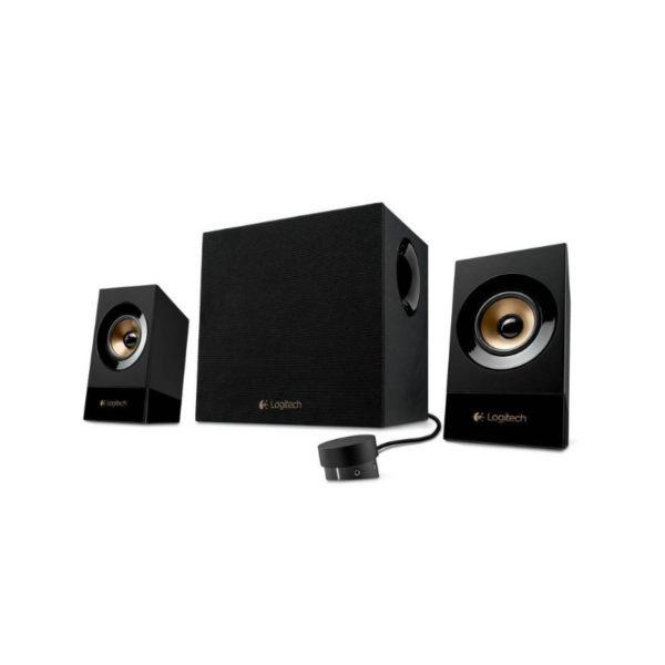 logitech z533 multimedia speaker system with subwoofer a