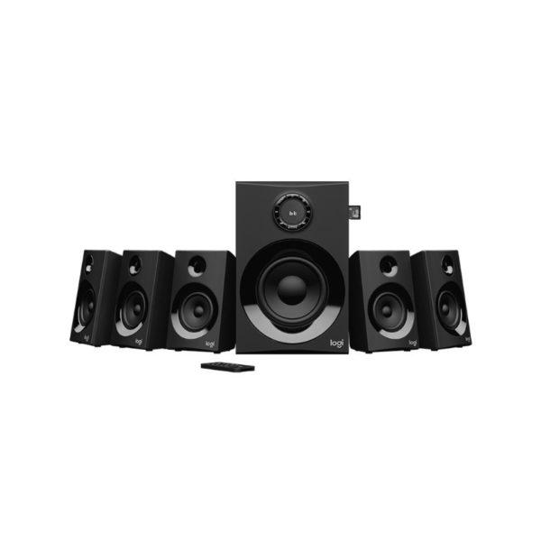 logitech z607 5 1 surround sound speaker system with bluetooth a