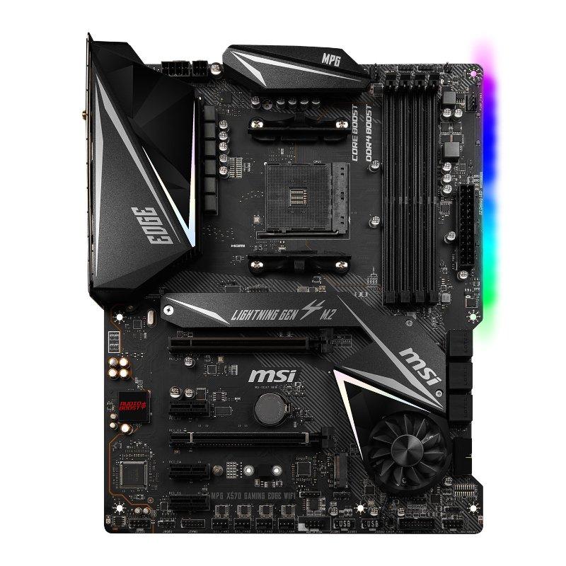 msi amd ryzen mpg x570 gaming edge am4 motherboard b