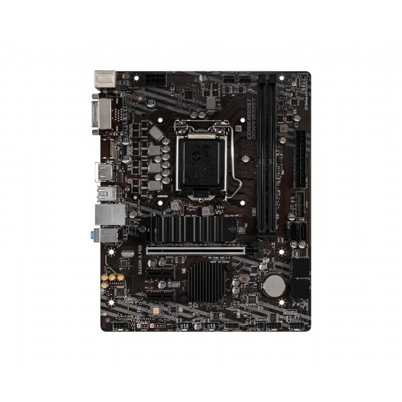 msi b460m a pro intel lga 1200 motherboard c