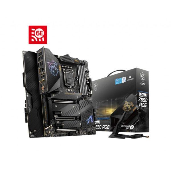msi meg z590 ace intel lga 1200 motherboard a